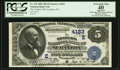 National Bank Notes:Pennsylvania, Scranton, PA - $5 1882 Date Back Fr. 532 The Traders NB Ch. #(E)4183. ...