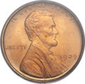 Lincoln Cents, 1909 1C MS67 Red PCGS....