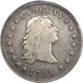 Early Dollars, 1795 $1 Flowing Hair, Three Leaves VF35 PCGS. B-5, BB-27, R.1....