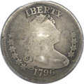 Early Quarters, 1796 25C -- Plugged -- PCGS Genuine. AG Details. B-2, R.3....