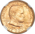 Commemorative Gold, 1922 G$1 Grant With Star MS67+ NGC. CAC....