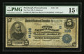 National Bank Notes:Pennsylvania, Pittsburgh, PA - $5 1902 Date Back Fr. 590 The First NB ofAllegheny Ch. # (E)198. ...