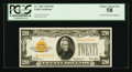 Small Size:Gold Certificates, Fr. 2402 $20 1928 Gold Certificate. PCGS Choice About New 58.. ...