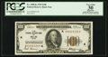 Fr. 1890-K $100 1929 Federal Reserve Bank Note. PCGS Apparent Very Fine 30