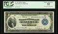 Fr. 742 $1 1918 Federal Reserve Bank Note PCGS Choice About New 55