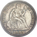 Seated Dimes, 1889-S 10C MS65 PCGS....