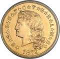 Proof Four Dollar Gold Pieces, 1879 $4 Flowing Hair, Judd-1635, Pollock-1832, R.3 -- PCGS Genuine. Proof....