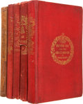 Books:Literature Pre-1900, Charles Dickens. Five Christmas Books, including: A ChristmasCarol. In Prose. Being a Ghost Story of Christma... (Total:5 Items)