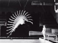 Photographs:20th Century, HAROLD EDGERTON (American, 1903-1990). Diver, 1958. Gelatinsilver, printed later. 8-3/4 x 11-1/2 inches (22.2 x 29.2 cm...