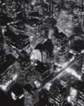 Photographs, BERENICE ABBOTT (American, 1898-1991). New York at Night, 1932. Gelatin silver, circa 1980. 13-1/2 x 10-1/2 inches (34.3...