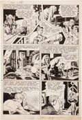 Original Comic Art:Panel Pages, Jack Kirby and Joe Simon Adventures of the Fly#1 Story Page4 Original Art (Archie, 1959). ...