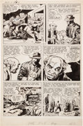 Original Comic Art:Panel Pages, Jack Kirby and Joe Simon Adventures of the Fly#1 Story Page3 Original Art (Archie, 1959). . ...