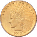 Proof Indian Eagles, 1912 $10 PR66 PCGS. CAC....