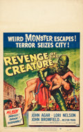 "Movie Posters:Horror, Revenge of the Creature (Universal International, 1955). WindowCard (14"" X 22"").. ..."