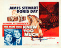"Movie Posters:Hitchcock, The Man Who Knew Too Much (Paramount, 1956). Half Sheets (2) (22"" X28"") Red & Yellow Style. Hitchcock.. ... (Total: 2 Items)"