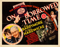 "On Borrowed Time (MGM, 1939). Half Sheets (2) (22"" X 28""). Style Black and Style Red. ... (Total: 2 Items)"