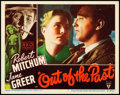 "Movie Posters:Film Noir, Out of the Past (RKO, 1947). Lobby Card (11"" X 14"").. ..."