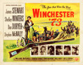 "Movie Posters:Western, Winchester '73 (Universal International, 1950). Half Sheets (2)(22"" X 28"") Style A and Style B.. ... (Total: 2 Items)"