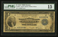Fr. 709* $1 1918 Federal Reserve Bank Note PMG Choice Fine 15