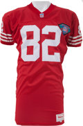 Football Collectibles:Uniforms, 1994 John Taylor Game Worn San Francisco 49ers Jersey - Team Letter. ...