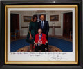 Autographs:Photos, 2010 President Barack Obama Signed Photograph to Stan Musial....