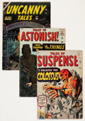Silver Age (1956-1969):Horror, Atlas Comics Silver Age Monster Group (Atlas, 1958-62) Condition:Average GD+.... (Total: 10 Comic Books)