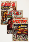 Silver Age (1956-1969):Horror, Atlas Comics Silver Age Horror Group (Atlas, 1959-62) Condition:Average FR.... (Total: 19 Comic Books)