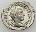 Ancients:Roman Imperial, Ancients: Herennius Etruscus as Caesar (AD 250-251). Lot of two (2) AR antoniniani. ... (Total: 2 coins)