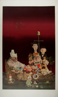 """Books:Prints & Leaves, Charles Bragg, artist. Signed Print """"Ship of Fools"""". 21.25"""" x35.25"""". Fine condition...."""