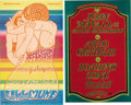 Music Memorabilia:Posters, Jefferson Airplane and John Mayall Fillmore Concert Poster Group(Bill Graham, 1966-68). Two vastly different Bill Graham Fi...(Total: 2 Items Item)