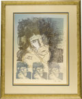 Music Memorabilia:Original Art, Ron Wood Signed Limited Print 1/1. Ronnie Wood's talents stretch far beyond his guitar work with the Stones, The Faces, and ... (Total: 1 Item)
