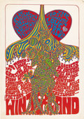 "Music Memorabilia:Posters, Grateful Dead ""Love Circus"" Winterland Concert Poster (1967).Here's a very unusual and extremely colorful concert poster p...(Total: 1 Item)"