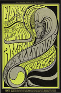 Music Memorabilia:Posters, Buffalo Springfield Fillmore Concert Poster BG-61 (Bill Graham,1967). Wes Wilson delivered one of his most psychedelic des...(Total: 1 Item)