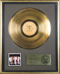 "Music Memorabilia:Awards, Isley Brothers ""Showdown"" RIAA Gold Album Award. An RIAA awardpresented to none other than Rudolph Isley to commemorate the...(Total: 1 Item)"