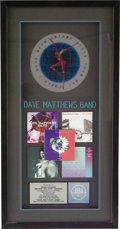 Music Memorabilia:Awards, Dave Matthews Band RIAA Multi-Platinum Award. Presented to Record& Tape Traders to commemorate the sale of more than ten mi...(Total: 1 Item)