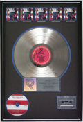 "Music Memorabilia:Awards, Bruce Springsteen Autographed ""Born in the USA"" RIAA Multi-PlatinumAward. Presented to Steven Smolen to commemorate the sal... (Total:1 Item)"