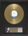 """Music Memorabilia:Awards, Norah Jones """"Come Away With Me"""" RIAA Gold Album Award. Presented toRecord & Tape Traders to commemorate the sale of more th...(Total: 1 Item)"""