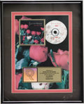 "Music Memorabilia:Awards, Concrete Blonde ""Bloodletting"" RIAA Gold Album Award. Presented toRecord & Tape Traders to commemorate the sale of more tha...(Total: 1 Item)"