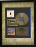 """Music Memorabilia:Awards, Train """"Drops of Jupiter"""" RIAA Gold CD Award. Presented to Record & Tape Traders to commemorate the sale of more than 500,000... (Total: 1 Item)"""