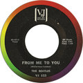 """Music Memorabilia:Recordings, Beatles """"From Me to You""""/ """"Thank You Girl"""" 45 (Vee-Jay 522, 1963).The second Vee-Jay single, released in May 1963. Of cours...(Total: 1 Item)"""
