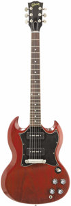 "Musical Instruments:Electric Guitars, Pete Townshend Signature Gibson SG, Exact Replica Of ""Live AtLeeds"" Guitar. On February 14, 1970, the Who made Rock and Rol...(Total: 1 Item)"