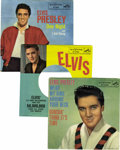 """Music Memorabilia:Recordings, Elvis Presley 45 w/Picture Sleeve Group of 6 (RCA 1958-66).Included are """"Wear My Ring Around Your Neck""""/ """"Doncha' Think It'...(Total: 1 Item)"""
