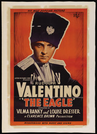 "The Eagle (Astor, R-1930s). One Sheet (27"" X 41""). Romance"