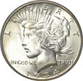 Peace Dollars, 1934-S $1 MS64+ PCGS. CAC....