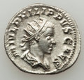 Ancients:Roman Imperial, Ancients: Philip I (AD 244-249) - Philip II (AD 247-249). Lot offour (4) AR antoniniani.... (Total: 4 coins)