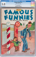 Platinum Age (1897-1937):Miscellaneous, Famous Funnies #21 (Eastern Color, 1936) CGC VG/FN 5.0 Cream tooff-white pages....