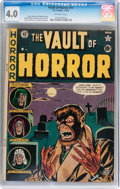 Golden Age (1938-1955):Horror, Vault of Horror #17 (EC, 1951) CGC VG 4.0 Off-white pages....