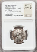 Ancients:Greek, Ancients: ATTICA. Athens. Ca. 454-414 BC. AR tetradrachm (17.10gm).  ...