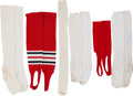 Baseball Collectibles:Uniforms, Stan Musial Old Timers Game Worn Socks & Stirrups....