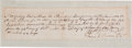 Autographs:Military Figures, [Revolutionary War]. Daniel Boone Document Signed...